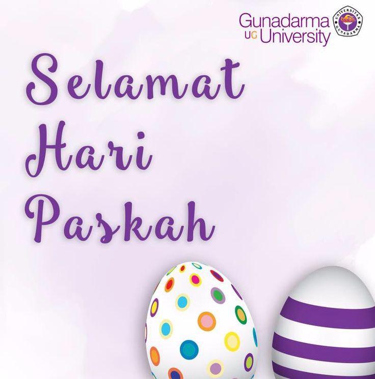 Selamat Merayakan Jumat Agung dan Selamat menyambut Hari Raya Paskah (Minggu 16/4) bagi yang merayakan.