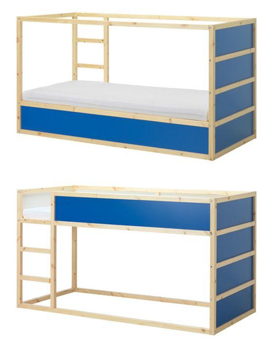 stunning ikea kura bed with tableau craie ikea. Black Bedroom Furniture Sets. Home Design Ideas