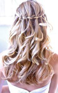 penteado para noivas, penteado com cabelos soltos, penteados