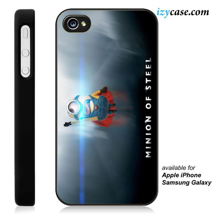 Minion of Steel Phone Case | Apple iPhone 4/4s 5/5s 5c 6 6 Plus Samsung Galaxy S3 S4 S5 S6 S6 Edge Hard Case