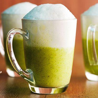 Spargel-Erbsen-Cappuccino Rezept | Küchengötter