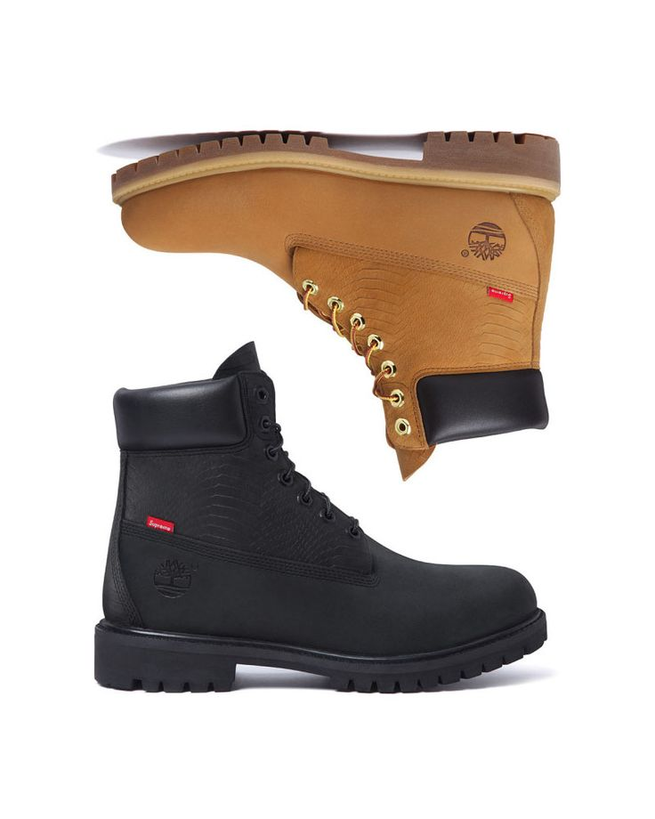 All Black Timberlands | SOLETOPIA