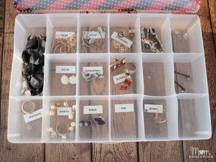 DIY Stud Earring Organizer