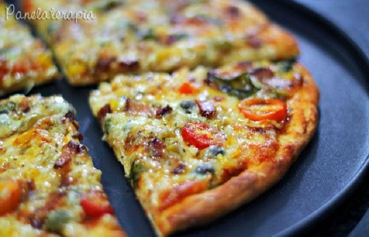 25 receitas de massa de pizza para quem prefere receitas caseiras