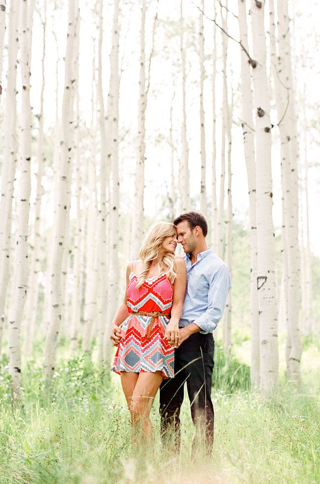 Prefect #dress for an #engagement photography session by A Little Dash of Darling. #engagementwhattowear
