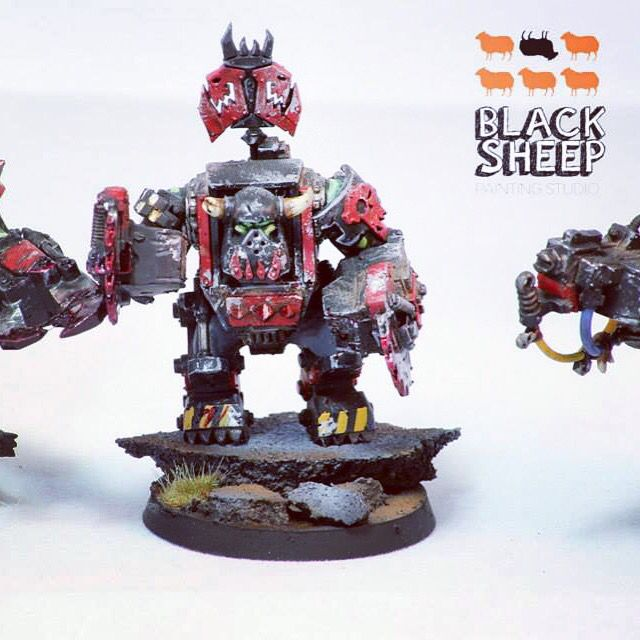 Ork army commission like us on www.facebook.com/blacksheeppaintingstudio
