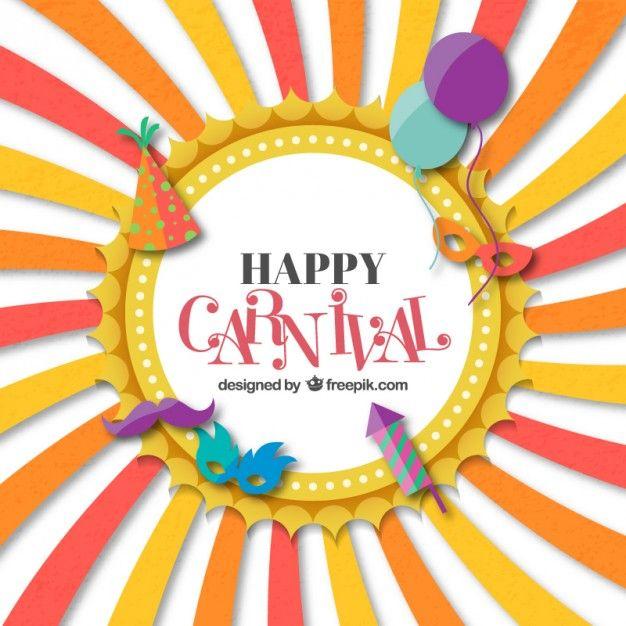 Funny carnival card