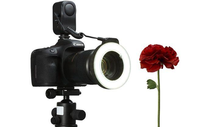 Macro Ring 48-LED Power Light for Canon, Sony, Nikon, and Sigma Lenses : Macro Ring 48-LED Power Light for Canon, Sony, Nikon, and Sigma Lenses