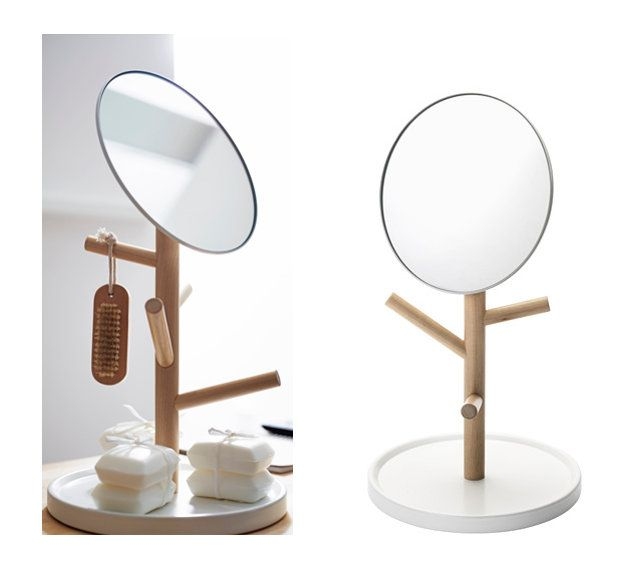 Miroir sur pied coffre a bijoux excellent miroir coffre Miroir xxl ikea