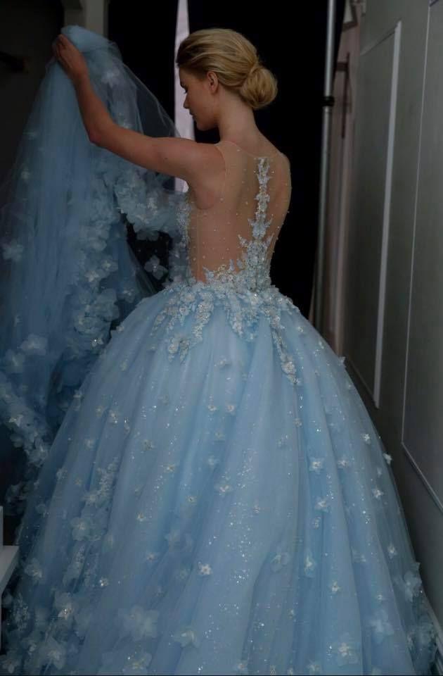 ballgown wedding dress by RANDY