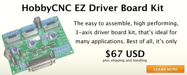 Hobby cnc driver board