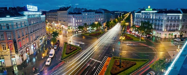 Oktogon Square #Budapest Photo by Krisztian Bodis