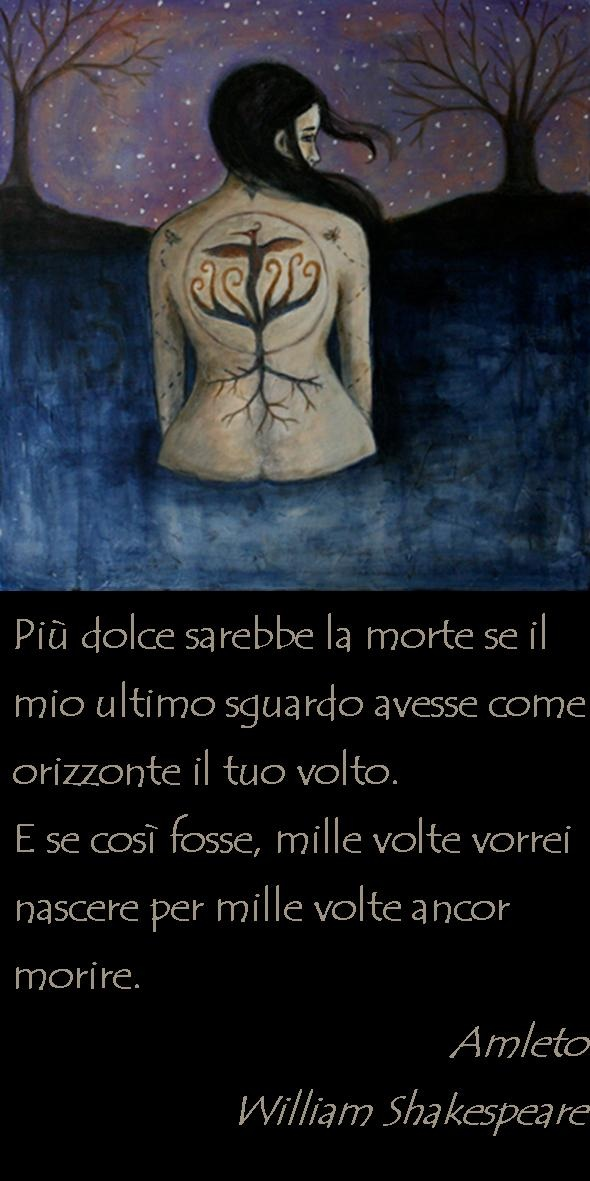Amleto, William Shakespeare Illustrazione di Leah Piken Kolidas (http://www.bluetreeartgallery.com/about-leah-piken.php)