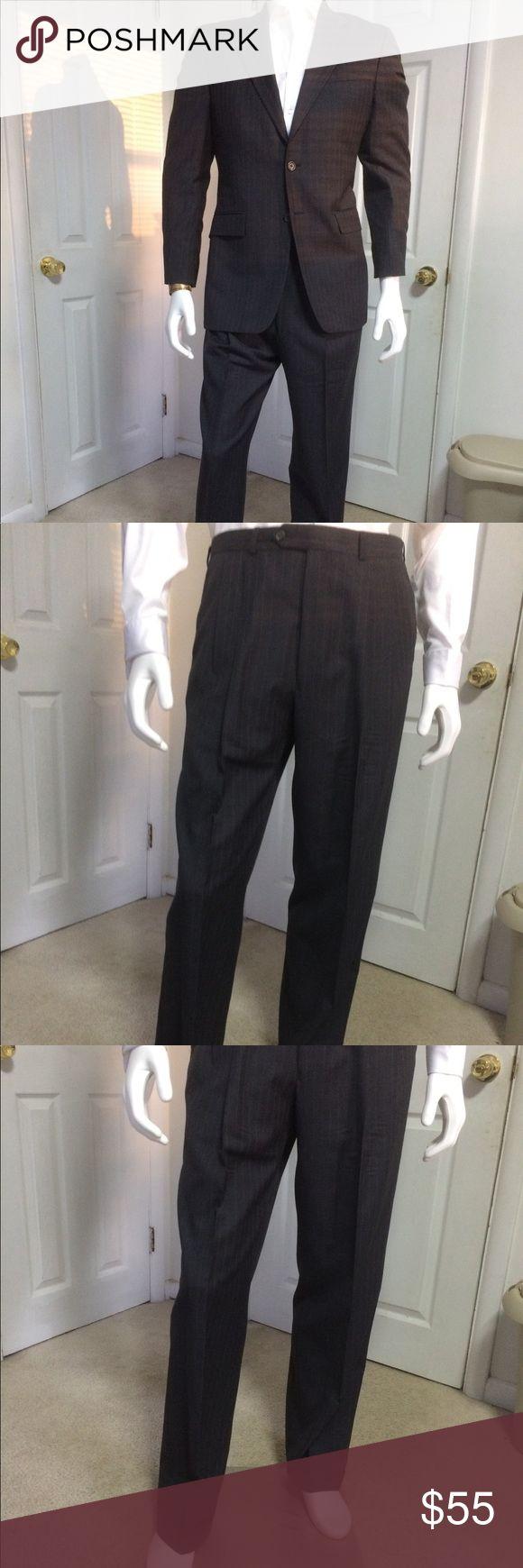 Ralph Lauren grey pinstripe suit size 38L 36/32 Ralph Lauren grey pinstripe suit size 38L 36/32 Lauren Ralph Lauren Suits & Blazers Suits