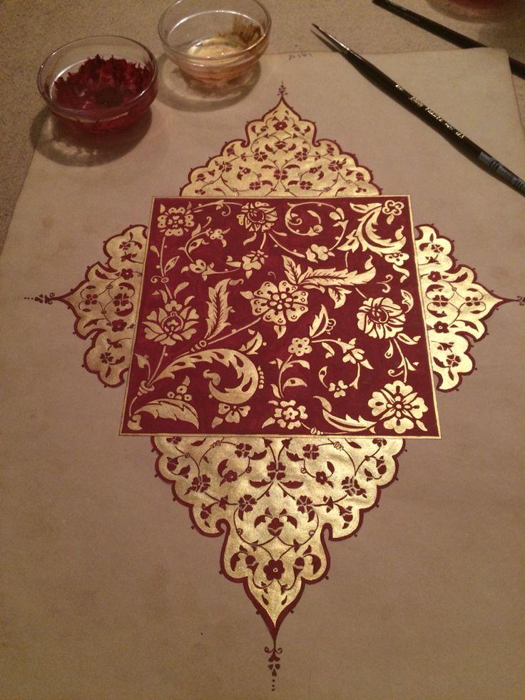 ♔ Middle Eastern Artwork | Uℓviỿỿa S. Bordoo ve altının aşkı