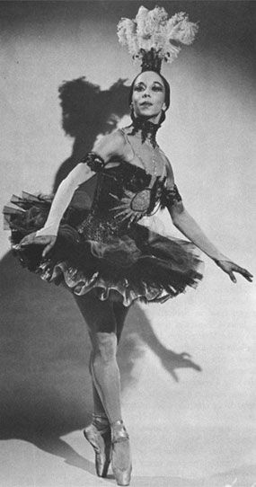 Janet Collins. First Black PrimaBallerina