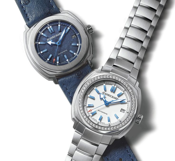 JEANRICHARD Terrascope 39 mm  azul