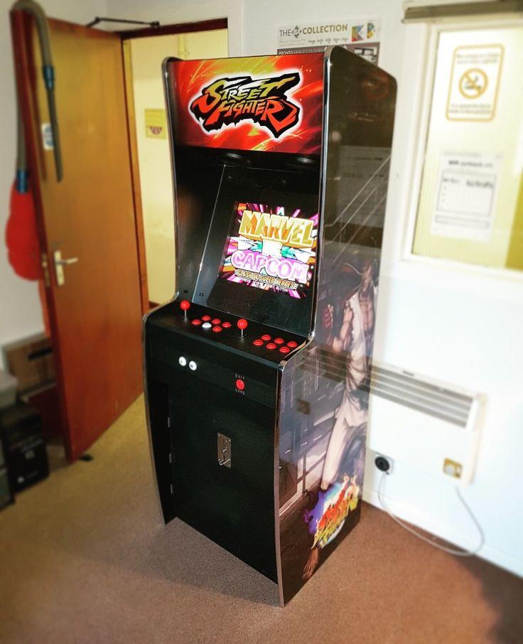 The Mark Eleven multi game arcade machine from Custom
