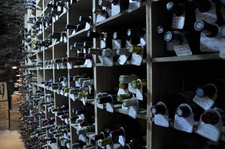 """Cave à vin de """"la côte de boeuf"""""""