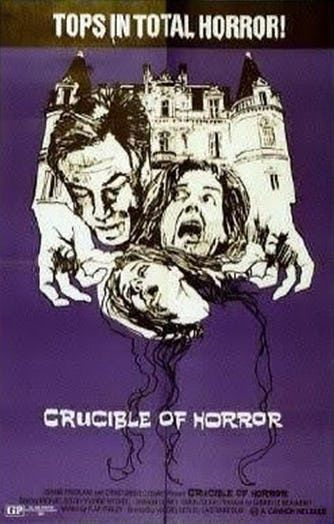 #Movie #CrucibleOfHorror Crucible of Horror - Horror Movie: Synopsis: A mother and daughter hatch a scheme to murder their family's…