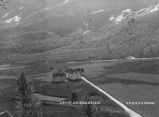 Lavik, Exingedalen fra marcus.uib.no