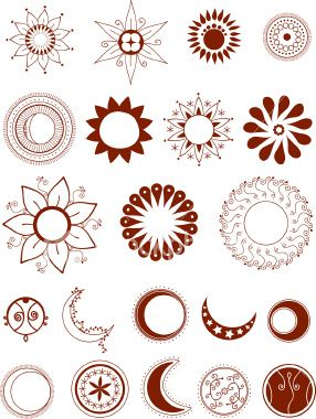 Google Image Result for http://i.istockimg.com/file_thumbview_approve/875880/2/stock-illustration-875880-mehndi-moons-and-suns-vector.jpg