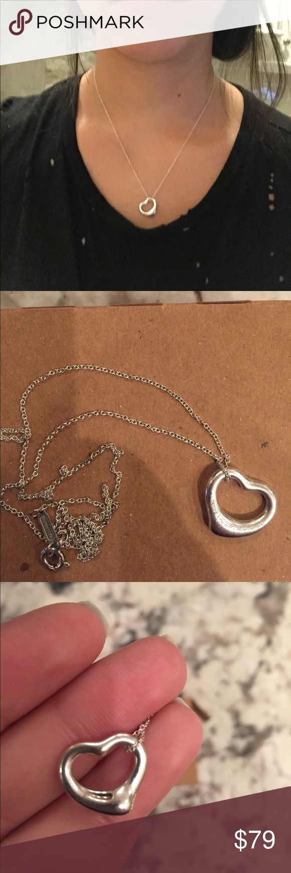 Tiffany heart necklace Authentic Tiffany necklace Tiffany & Co. Jewelry Necklaces