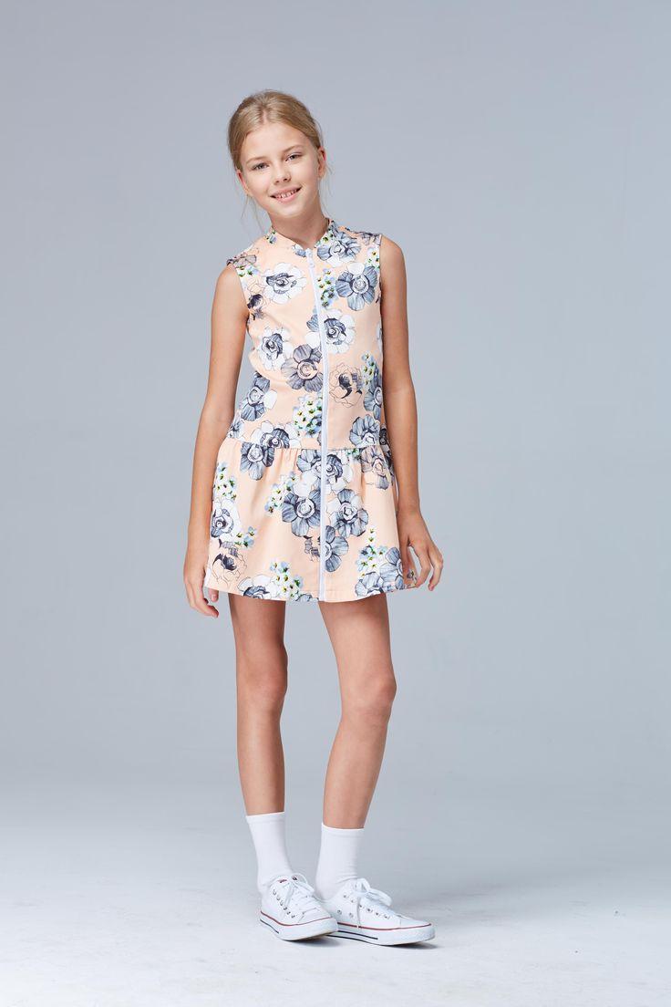 платье Д142 (персиковый)
