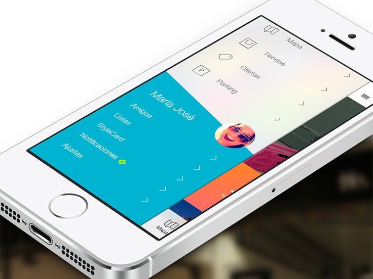 menu shopping mall app ios designmobile ui - Ui Design Ideas