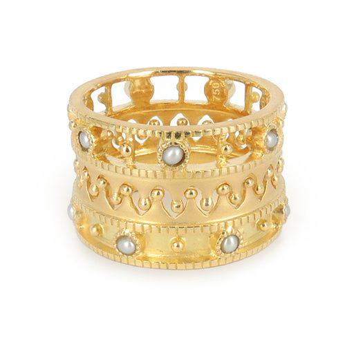 ~ Living a Beautiful Life ~ Les bagues ring stack For Eva de Perlota