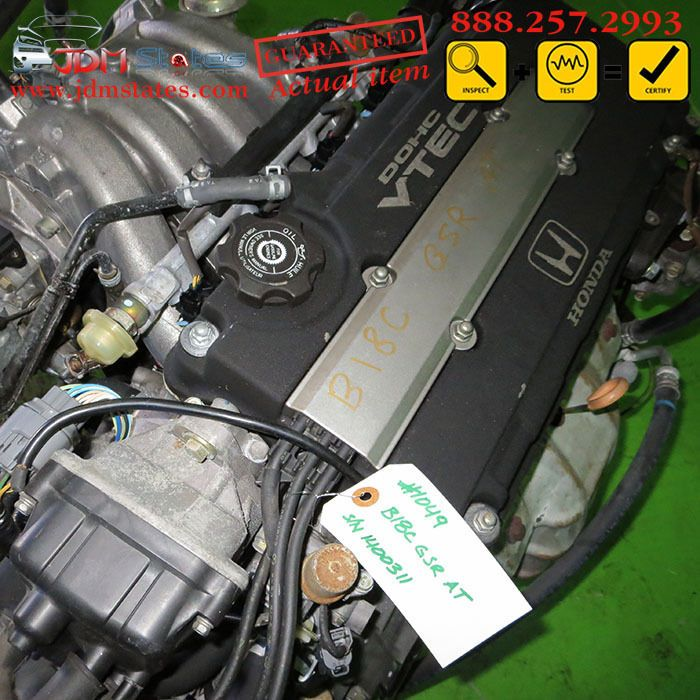 JDM Honda Acura Integra GSR B18C 1.8L DOHC VTEC OBD2