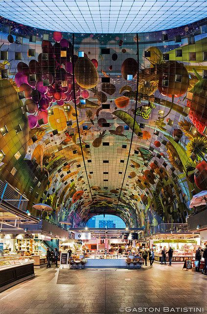 Markthal, Rotterdam, Holland | Just Do It ! | Gaston Batistini | Flickr