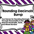 Here are two engaging games to give your students practice rounding decimals to the nearest whole number, tenth, and hundredth. Directions are prin...