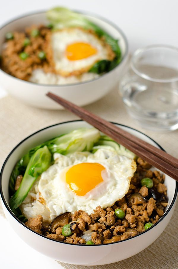 Chinese ground chicken bowl - 20 Chinese Recipes You Need to Try Out in 2015 | Omnivore's Cookbook