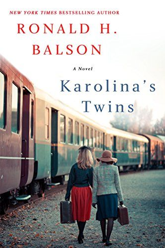18 historical fiction books to read this year, including Karolina's Twins by Ronald H. Balson. This list has great book club book ideas!