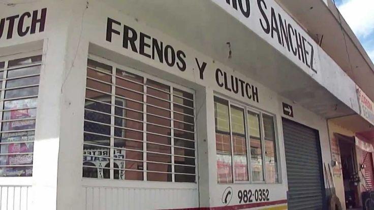 RIO GRANDE ZACATECAS. REFACCIONARIA ANTONIO SANCHEZ--FRENOS Y CLUTCH--
