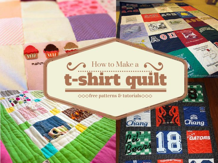 How To Make A T Shirt Quilt Quilt Souvenirs And Block