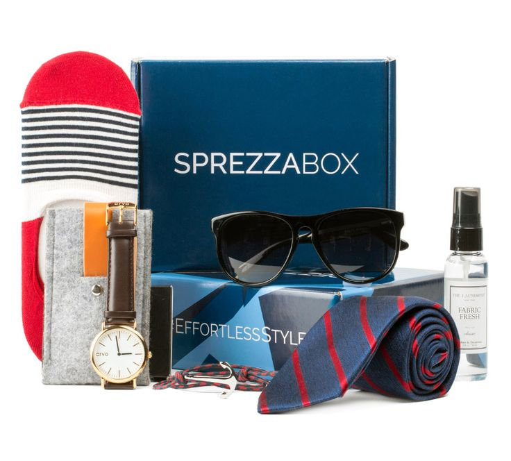 Dad will always have the finishing touches for every day wear with a subscription to SprezzaBox.