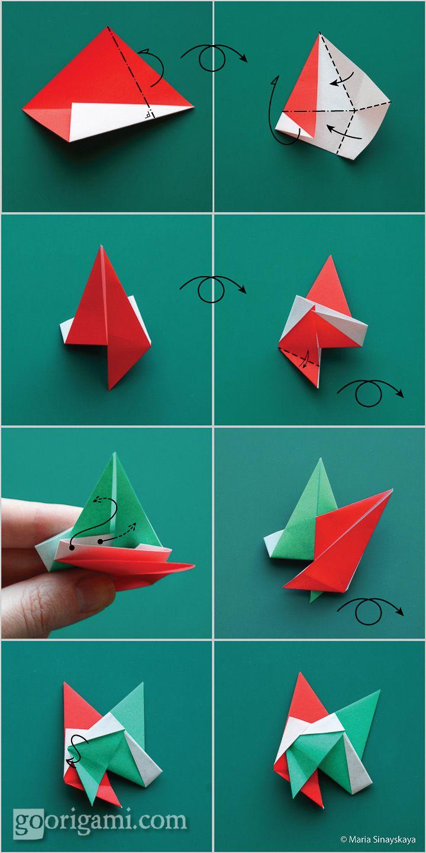 Christmas origami instructions hex star maria sinayskaya youtube - Star Corona Boreale Origami Starschristmaspaper