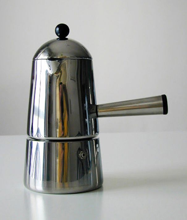 Lavazza Stovetop Coffee Maker : Espresso Maker CARMENCITA (Marco Zanuso for Lavazza, 1979) Form and Function Pinterest ...