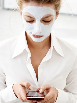 """Before a presentation or date, I always like to use a hydrating mask for 5-10 minutes for the antioxidant benefits,"" says Beauty.com Luxury Skincare and Fragrance Category Manager, Suzy Lang. ""You can also use this time to check up on emails."""