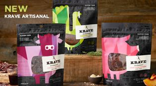 KRAVE Jerky | Healthy Gourmet Jerky #KRAVEUP