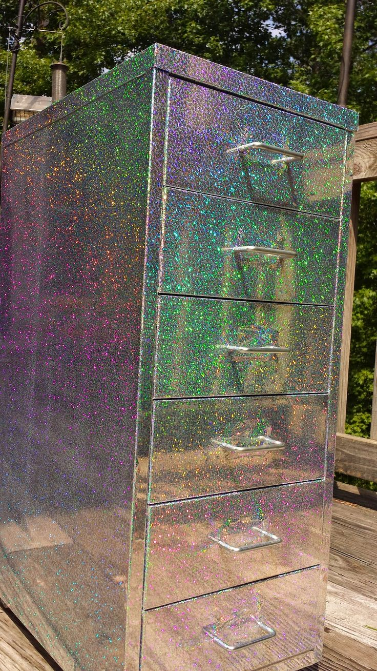 how to make a normal chest of drawers holographic!