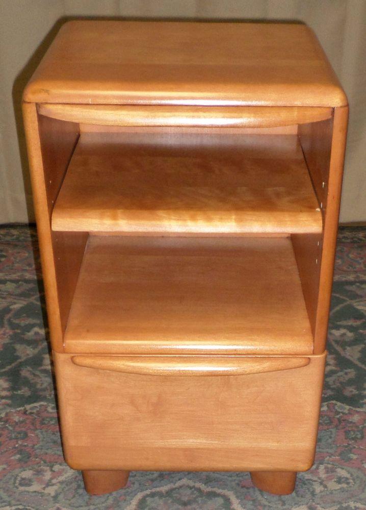 heywood wakefield encore mid century nightstand chest vintage
