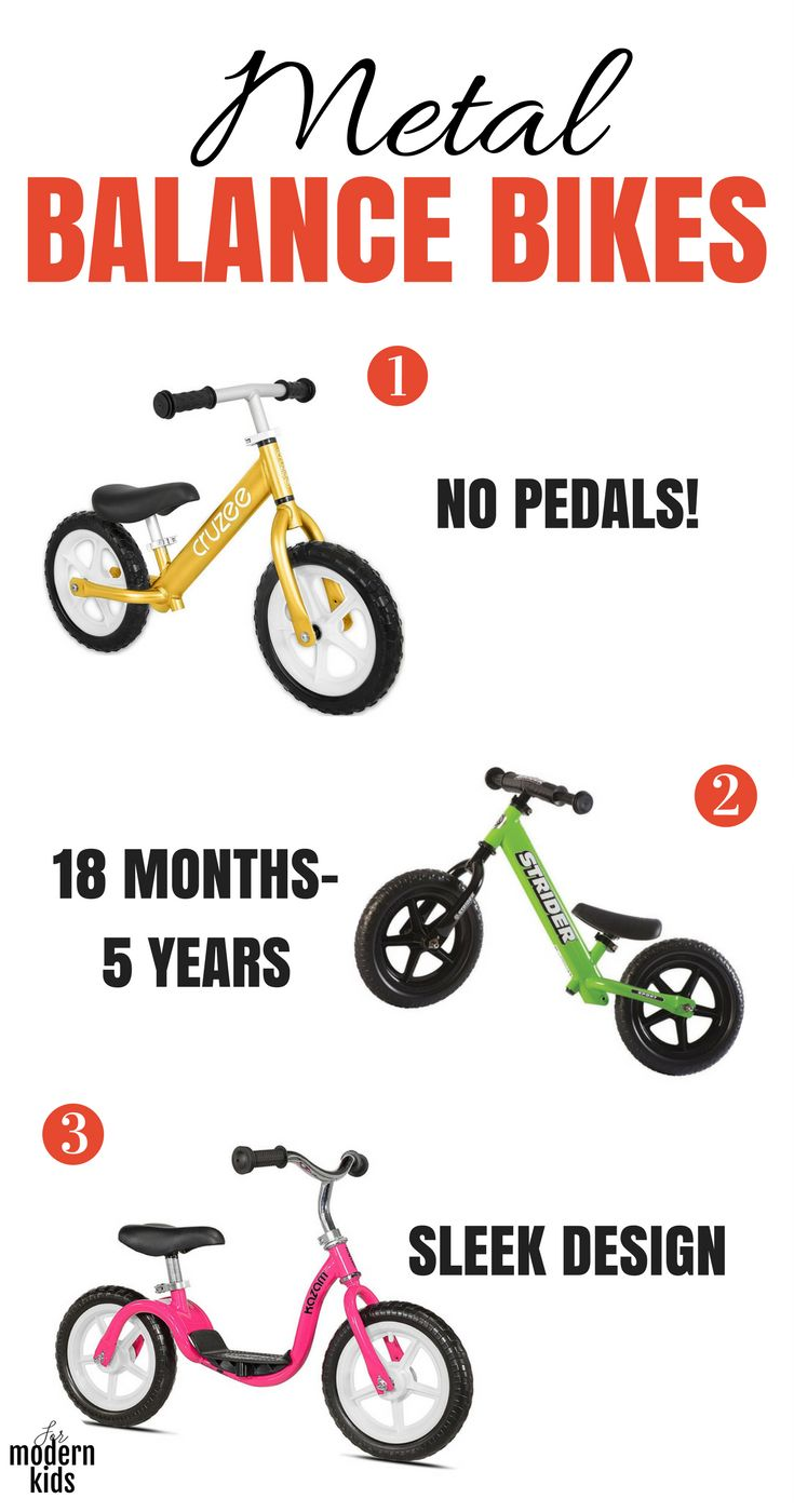 Toddler Bike | Balance bikes are the perfect bikes for toddlers. With their no pedal design, kids will learn to balance themselves without worrying about pedaling at the same time. Skip the training wheels and go straight from this toddler bike to a big kid bike. Here are the best balance bikes for kids.