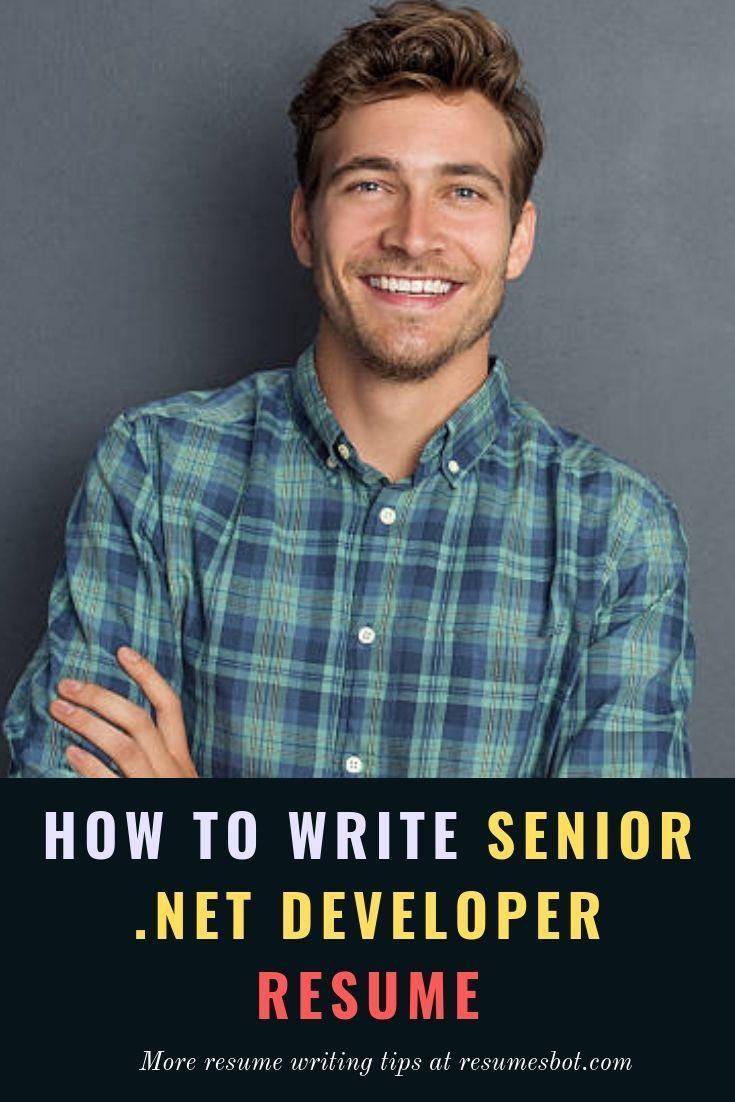 Senior Net Developer Resume Samples Templates Pdf Doc 2019 Resume Writing Tips Resume Resume Tips