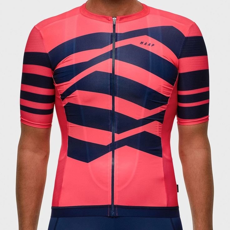 MAAP M-Flag Pro Light Jersey - Coral   Short Sleeve Cycling Jerseys for sale in North Melbourne