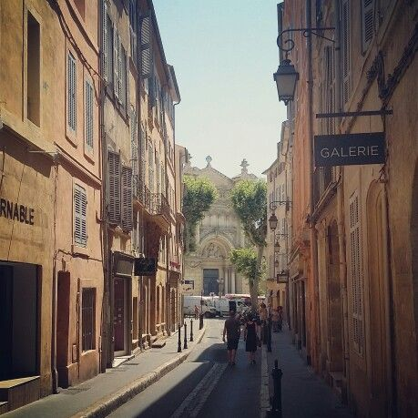 The streets of provence