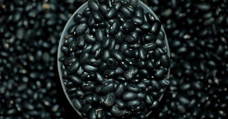 Conheça os 11 alimentos de origem vegetal mais ricos em proteínas.  O 11º desta lista é o feijão preto. Em cada 100 gr do alimento, 4,5 g correspondem a proteínas. O alimento é da família das leguminosas, conhecidas por serem importantes fontes de proteínas. Para se ter uma idéia, uma concha de qualquer leguminosa corresponde, em proteína, a 100 gr de carne.  Fotografia: Reinaldo Canato/UOL.