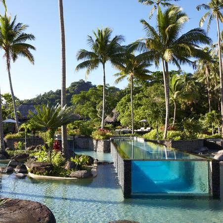 Piscine dans les iles Fidji